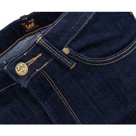 Dámské skinny jeansy - Lee SKYLER SOLID BLUE - 4