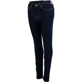 Lee SKYLER SOLID BLUE - Dámske skinny džínsy