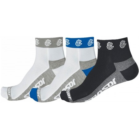 RUČIČKA 3-PACK - Cycling socks - Sensor RUČIČKA 3-PACK