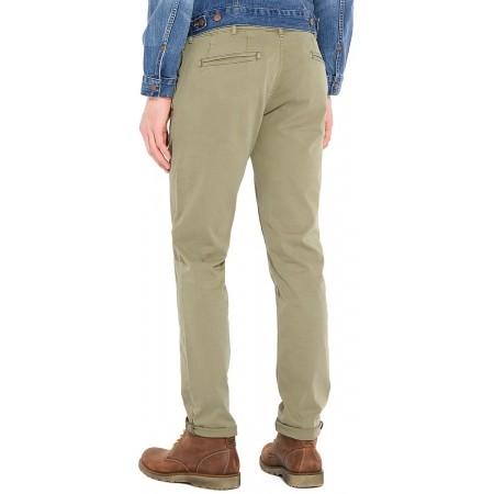Pantaloni de bărbați - Wrangler CHINO DUSTY OLIVE - 2