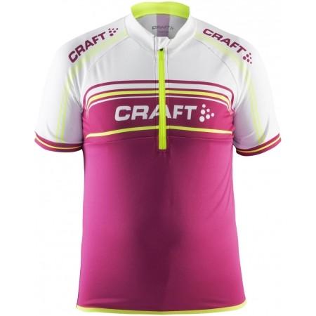 17640859552 Dětský cyklistický dres - Craft JB LOGO - 1