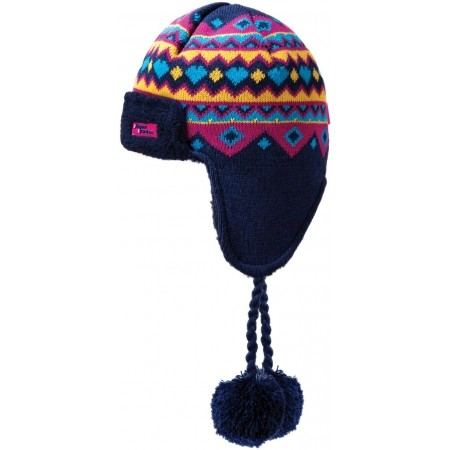 Pletená čiapka - Kama K52-108 ČEPICE MERINO UŠI