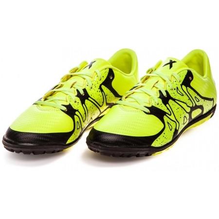 Детски футболни обувки - adidas X 15.3 TF J - 4