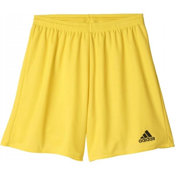 adidas PARMA 16 SHORT JR sárga 128 - Junior futball rövidnadrág