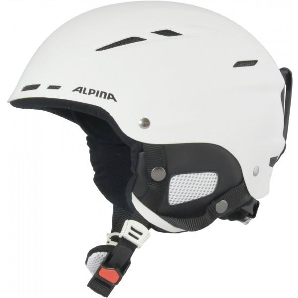 Alpina Sports BIOM biela (58 - 62) - Lyžiarska prilba