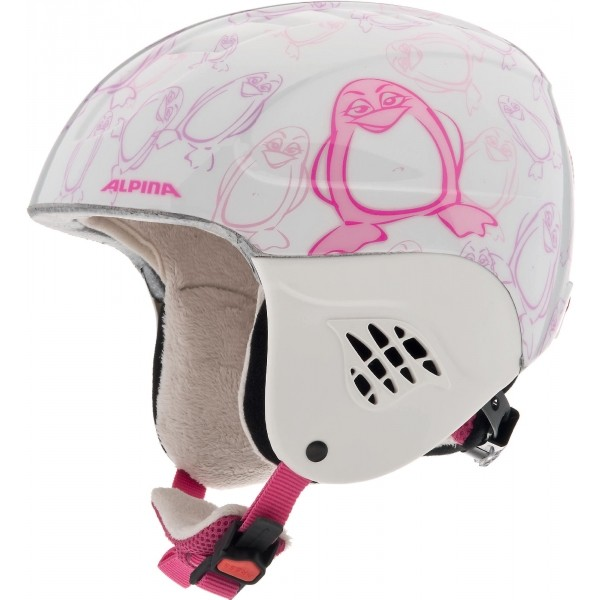 Alpina Sports CARAT světle růžová (51 - 55) - Dětská lyžařská helma