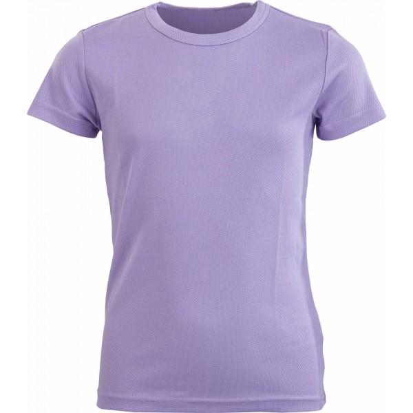 ALPINE PRO DEMIO fioletowy 104-110 - Koszulka dziecięca