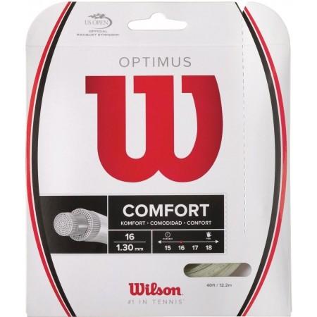 Výplet pro tenisové rakety - Wilson OPTIMUS 16 WH