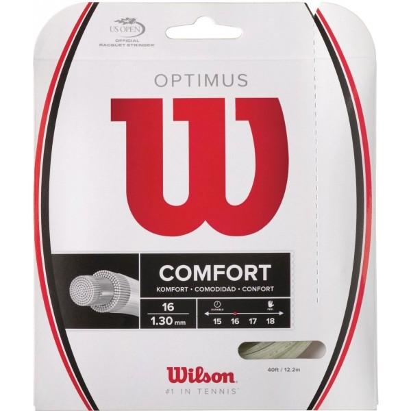 Wilson OPTIMUS 16 WH - Výplet pre tenisové rakety