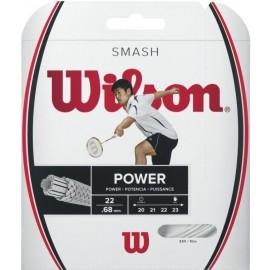 Wilson SMASH 66 WHITE - Corzi rachetă badminton