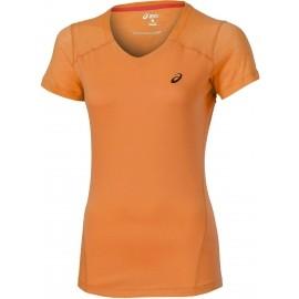 Asics FUZE X V-NECK SS TOP - Dámske športové tričko