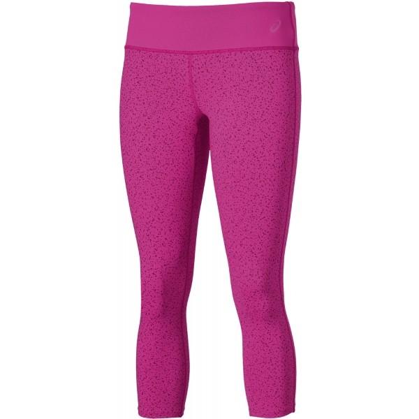 Asics 3/4 GRAPHIC TIGHT różowy XL - Damskie legginsy do biegania