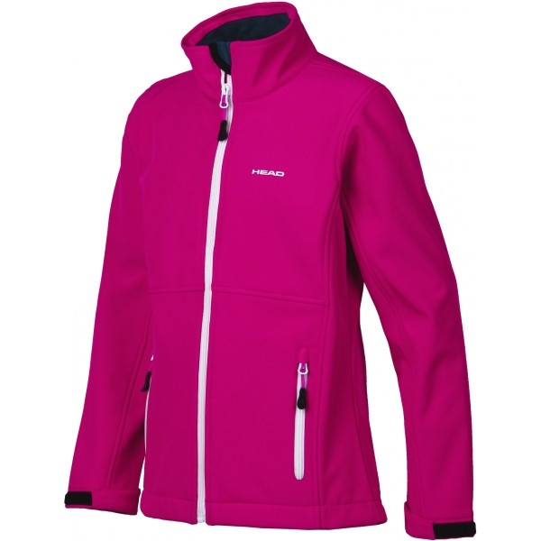 Head PUNAIS růžová 128-134 - Dívčí softshellová bunda