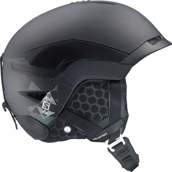 Salomon QUEST černá 53-56 - Lyžařská helma