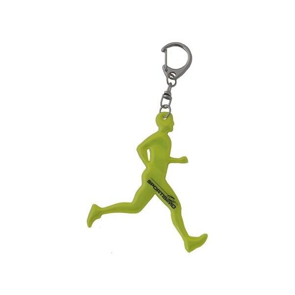 Kolimpex NO RUNNER MAN světle zelená  - Reflexní přívěšek
