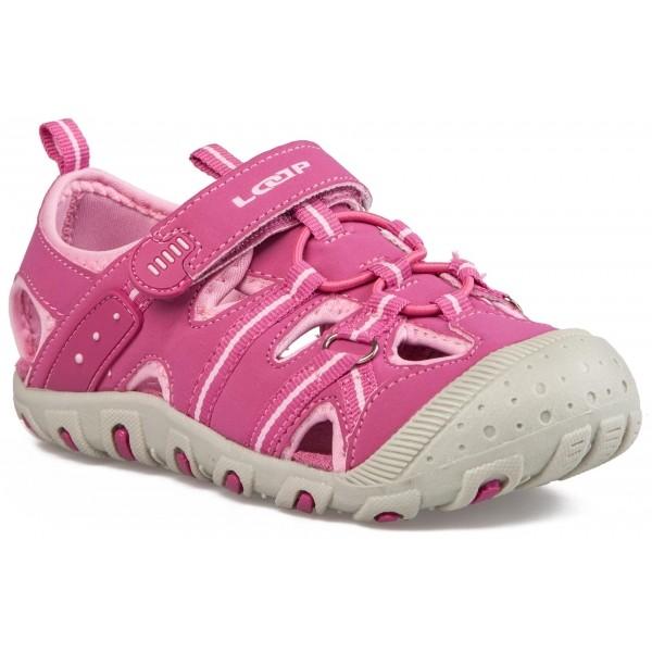 Loap GRUMPY růžová 35 - Dětské letní sandály