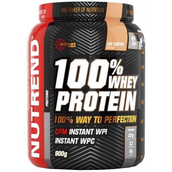 Nutrend 100% WHEY PROTEIN 900G PISTÁCIE   - Proteínový nápoj