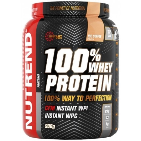 Proteinový nápoj - Nutrend 100 WHEY PROTEIN 900G VANILKA