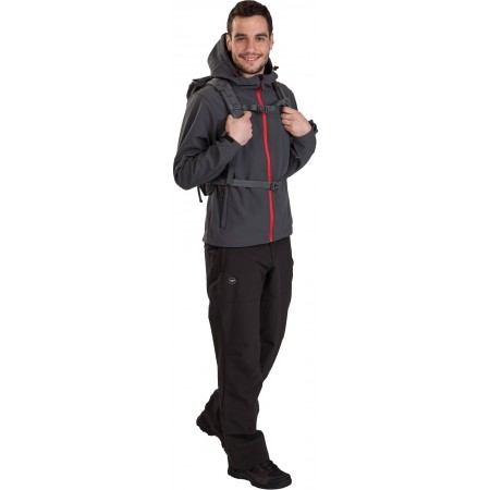 TRAMAN SOFTSHELL PANTS LIGHT - Herren Outdoor Softshellhose - Hi-Tec TRAMAN SOFTSHELL PANTS LIGHT - 7