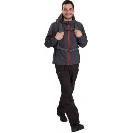 TRAMAN SOFTSHELL PANTS LIGHT - Pánské outdoorové softshellové kalhoty - Hi-Tec TRAMAN SOFTSHELL PANTS LIGHT - 8