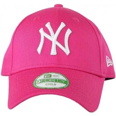 Дамска клубна шапка с козирка - New Era 9FORTY KID MLB LEAGUE BASIC NEYYAN LS - 2