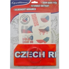 SPORT TEAM FAN SADA ČR 2 - Fanúšikovský set