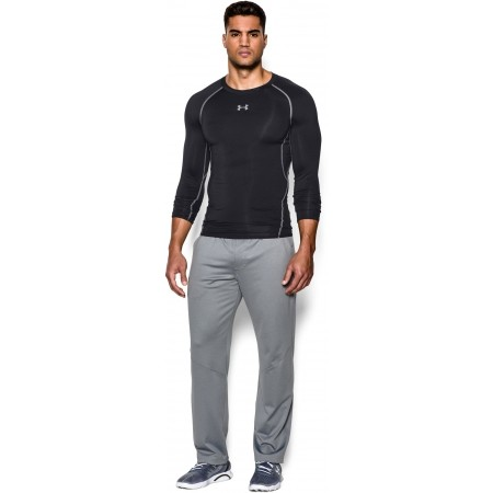 Férfi kompressziós póló - Under Armour HEAT ARM COMPR LONG - 4