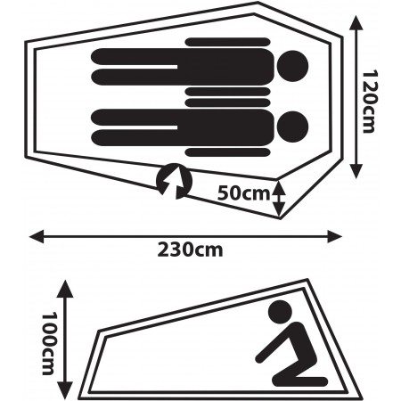 Палатка - Crossroad POINT 2 - 5