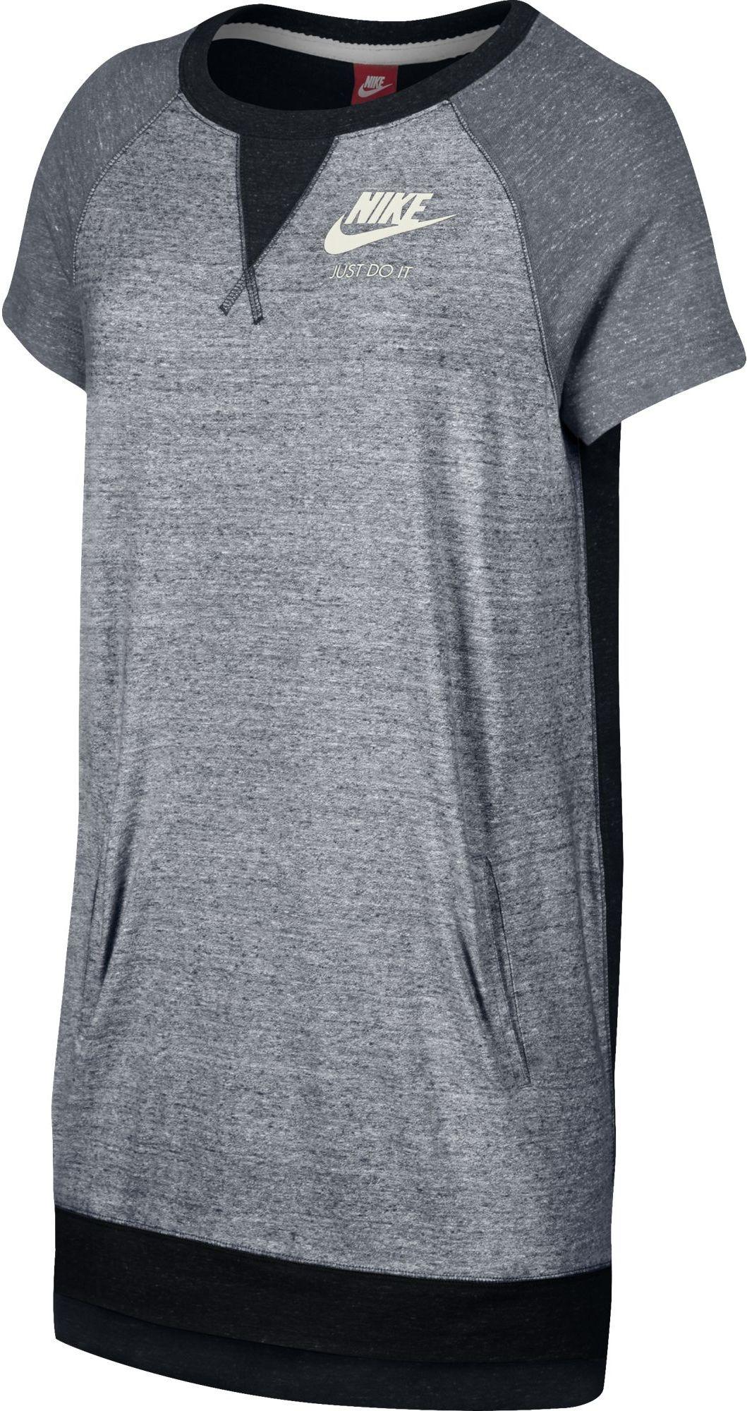 1b4201a9b676 Nike W NSW GYM VINTAGE DRESS. Dámské tričko šaty