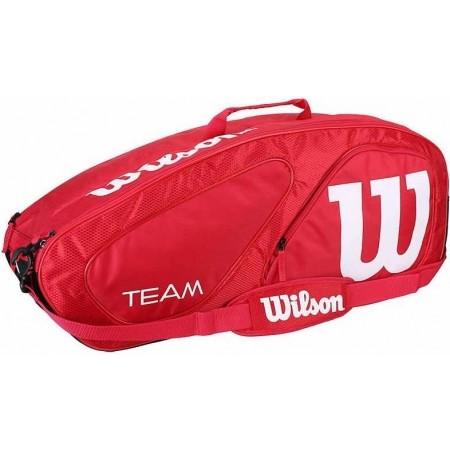 Чанта за тенис ракети - Wilson TEAM II 6PK BAG
