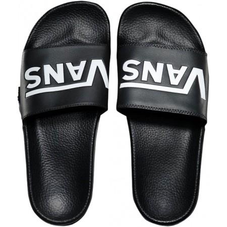 b7821f99b7c Pánské módní pantofle - Vans M SLIDE-ON BLACK - 3