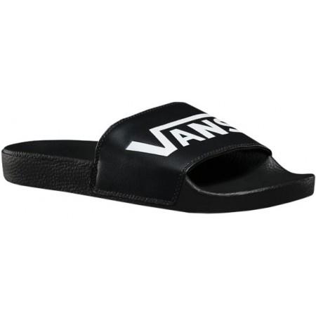 c27ede8aaf5 Pánské módní pantofle - Vans M SLIDE-ON BLACK - 1