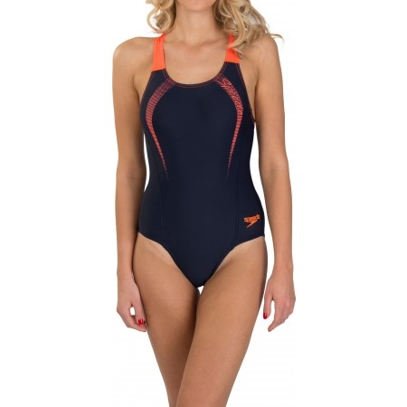 Dámské sportovní plavky - Speedo SPORTS LOGO MEDALIST - 1 21ed6b65bd