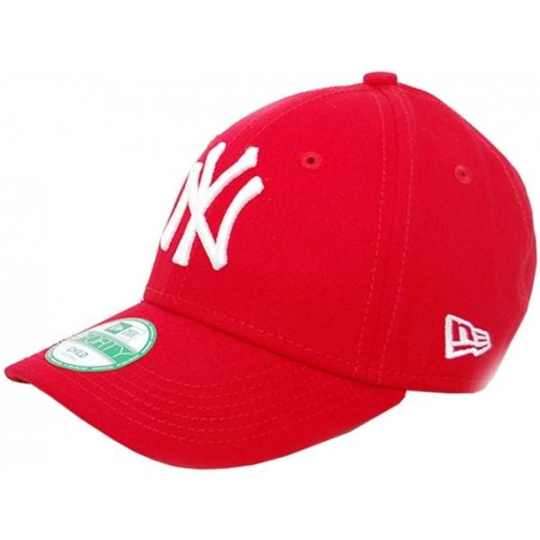 New Era 9FORTY K MLB LEAGUE BASIC NEYYAN červená YOUTH - Dětská klubová kšiltovka