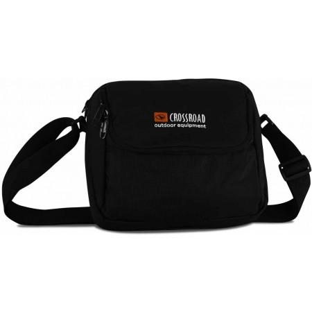 Cestovná taška na doklady - Crossroad 006 black
