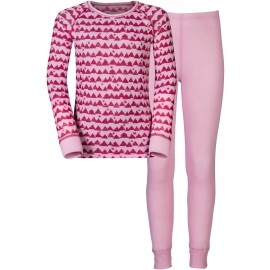 Odlo WARM KIDS SHIRT L/S PANTS LONG SET - Detský funkčný set