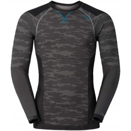 Odlo BLACKCOMB EVOLUTION WARM SHIRT L/S CREW NECK - Koszulka kompresyjna termoaktywna męska