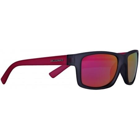 Polarizační sluneční brýle - Blizzard RUBBER TRANSPARENT POL
