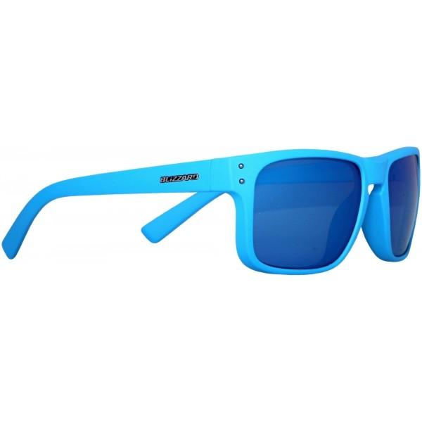 Blizzard RUBBER BLUE GUN DECOR POINTS POL modrá  - Polarizační sluneční brýle
