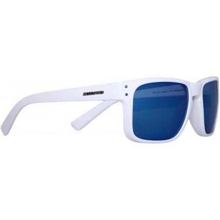 Slnečné okuliare - Blizzard RUBBER WHITE GUN DECOR POINTS POL