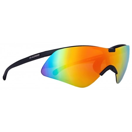 Sunglasses - Blizzard RUBBER BLACK SET