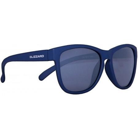 Polarizačné slnečné okuliare - Blizzard RUBBER DARK BLUE POL