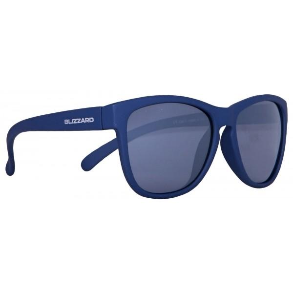Blizzard DARK BLUE MATT JUN tmavě modrá  - Sluneční brýle