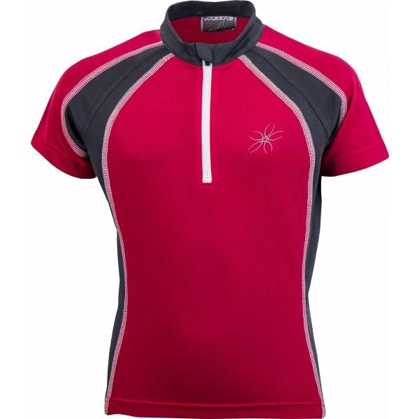 Arcore DANIEL růžová 164-170 - Dětský cyklistický dres