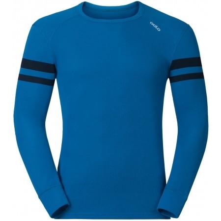 2d9afe3f52 Pánske funkčné tričko - Odlo JUL PRINT SHIRT L S CREW NECK - 1