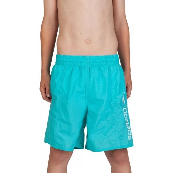 Speedo CHALLENGE 15 WATERSHORT kék S - Junior fürdőnadrág
