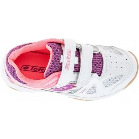 Dětská sálová obuv - Lotto JUMPER VI CL S - 4