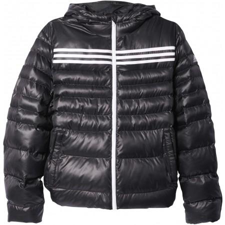 Pánska zimná bunda - adidas SYNTHETIC FILLED JACKET 3 STRIPES - 1 7792cd36b6e