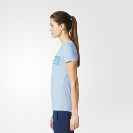 Women s T-shirt - adidas ESSENTIALS LINEAR TEE - 13 a53b9fdb67