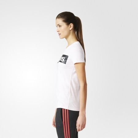Women s T-shirt - adidas ESSENTIALS LINEAR TEE - 24 c66143431c